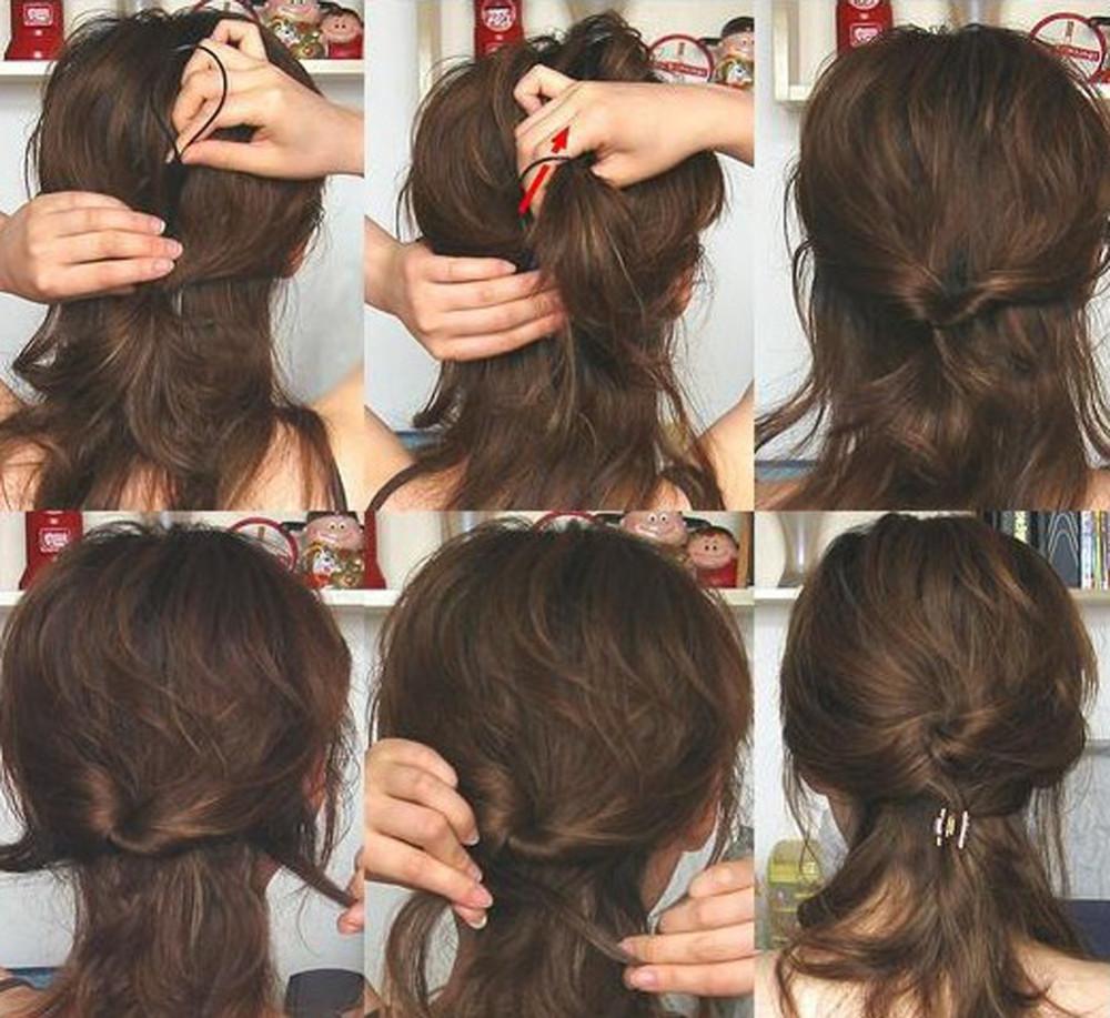 2pcs Womens Girls Topsy Tail Hair Braided Tool Ponytail Maker Styling Tool Hairwrap(China (Mainland))