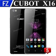 "Original black CUBOT X16 5.0"" 2.5D JDI FHD MTK6735 64bit Quad core Android 5.1 4G LTE smratphone 13MP 2GB RAM 16GB ROM dual sim(China (Mainland))"