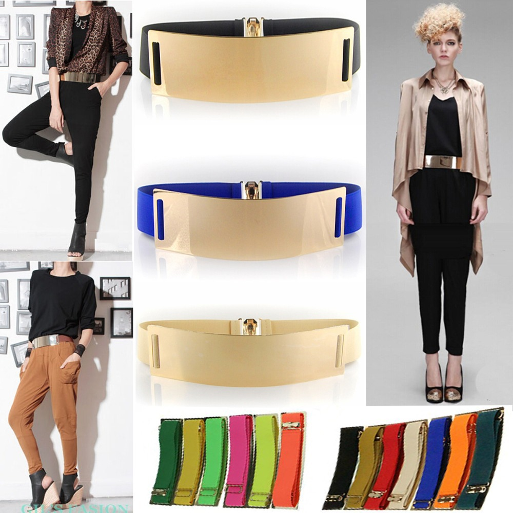 new arrival Europe&America gold metal mirror face belts for sexy women fashion Apparel Accessories QW089-1belts for women(China (Mainland))