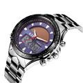 2015 Men Full Steel Sports Watch 30M Waterproof Quartz Digital Watch LED Military Watches Solar Powered