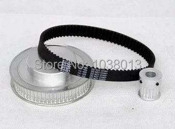 timing Belt Pulleys HTD3M 1:4 timing pulley 15 teeth and 60 teeth belt width 10mm(China (Mainland))