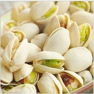 Premium pistachio natural color bleach large pistachio pistachios 500g nuts(China (Mainland))