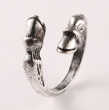 Buy Fine Fashion vintage horseshoe Resizable Ring men women horse hoof animal ring jewelry for $1.26 in AliExpress store