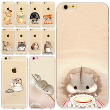 Buy Soft Silicon Cut animals Hamster design Phone Cases iPhone 4s 5s SE 6 6s 6plus 7 7Plus Cover Mobile Phone Bags fundas coque for $1.25 in AliExpress store
