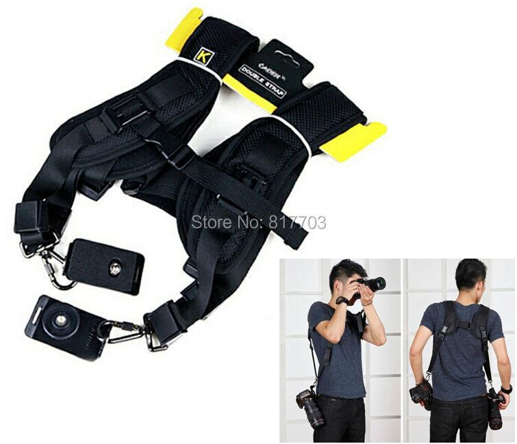 Quick Rapid Camera Double Shoulder Neck Strap Belt Sling Sponge Pad For Canon Nikon Sony Camera SLR DSLR<br><br>Aliexpress