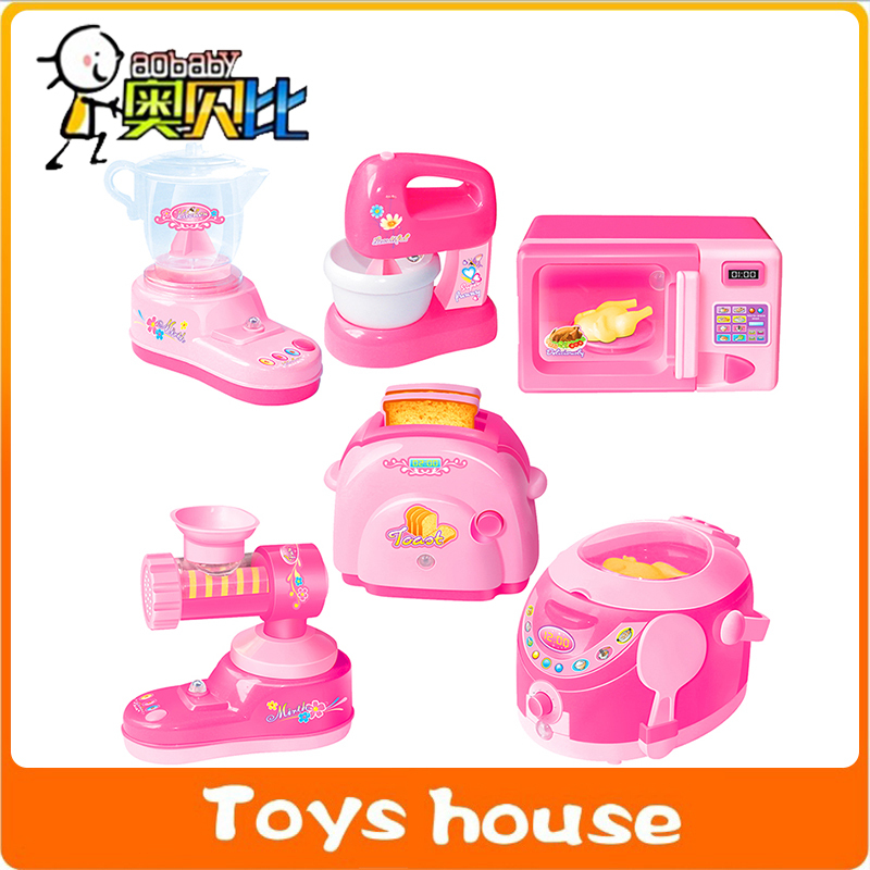 Buy 6pcs lot kitchen toys kids pretend for Cocina juguete aliexpress