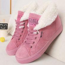 Neue mode pelz weibliche warme knöchel stiefel frauen stiefel schnee stiefel und herbst winter frauen schuhe # Y10308Q(China)