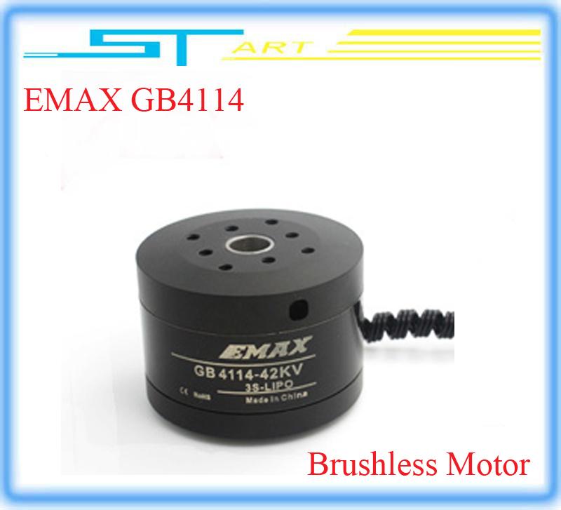 5 pcs/lot EMAX GB4114 KV42 RC Brushless Motor Model For Airplane 2-axis BGC Brushless Camera Gimbal Low Shipping Fee Wholesale