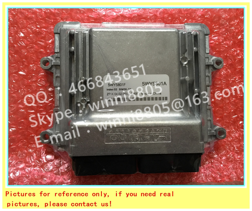 For Wulingzhiguang 6371 car engine computer board/ECU/ Electronic Control Unit/Car PC/ 5WY5801F 5WY5801A/Trip computer(China (Mainland))