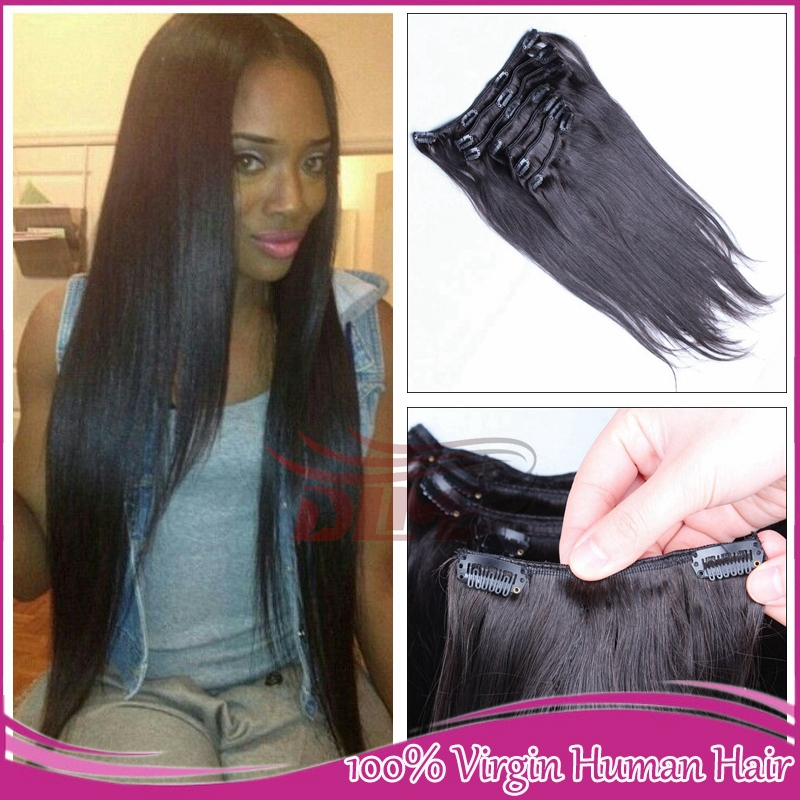 Hair Clip Extensions For African Americans Hair Clip in Extension For
