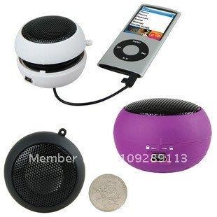 50pcs/lot Rechargable hamburger portable speaker for ipod touch,Good performence, free shipping!