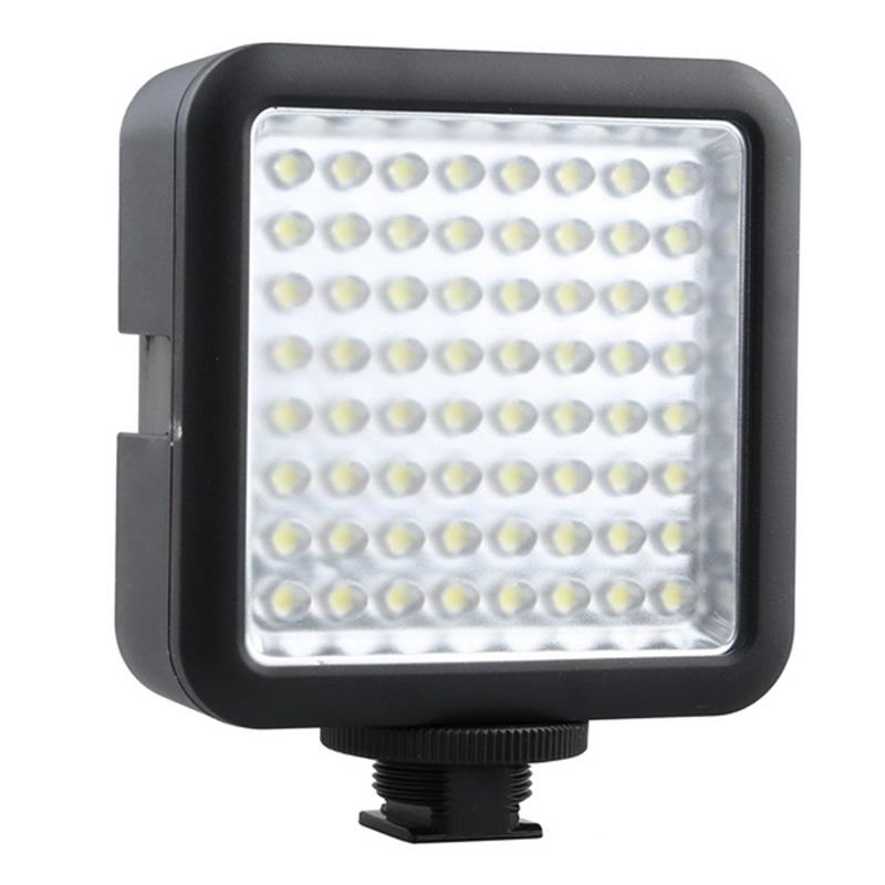 Godox 64 LED Illumination Dimming Video Light for Canon / Nikon / Pentax DSLR Camera(China (Mainland))