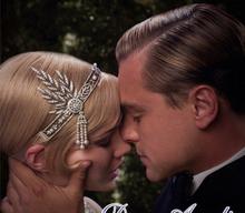 Cappello da sposa 2016 accessori per capelli the great gatsby daisy cristallo perle nappe corona cerchio dei capelli della fascia wedding bridal tiara(China (Mainland))
