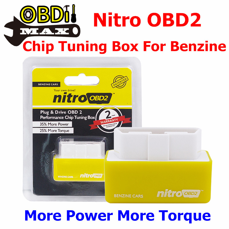 yellow nitroobd2 chip tuning box for benzine cars nitro. Black Bedroom Furniture Sets. Home Design Ideas