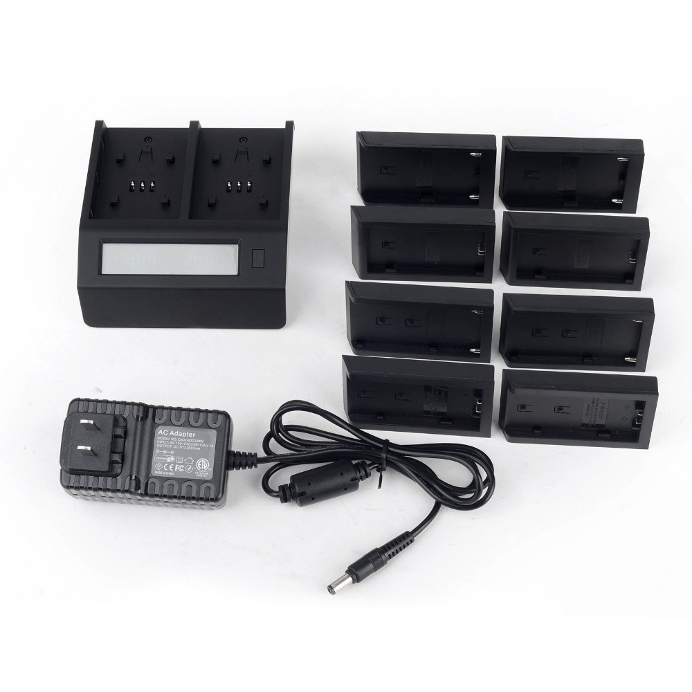 8 in 1 Smart LCD Dual Battery Charger for Sony NP-F550/F750/F960/F970/FM50/FM70/FM90/Fv50/Fv70/Fv100/Fv120/BP-U60 BP-U90 BP-U30<br><br>Aliexpress