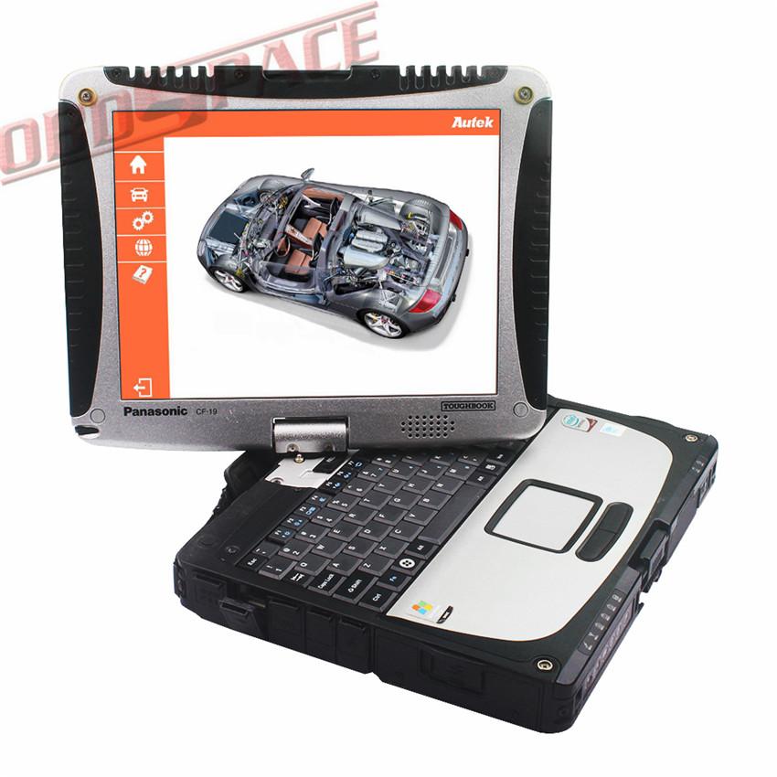 Newest Professional Diagnostic Tool Kit Autek PCI A6 OBD2 OBDii Automotive Programmer OBD1 Coding & Car Scan Tool for BMW Key(Hong Kong)