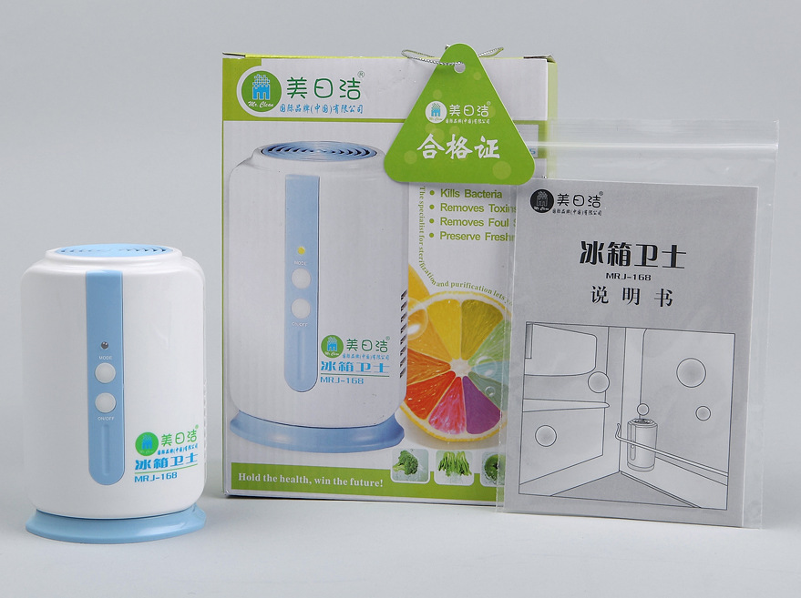 Household refrigerator air purifier ozone disinfection preservation guards wardrobe mildew deodorizers special wholesale(China (Mainland))