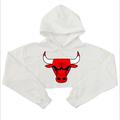 Free Shipping 2016 Autumn Women Men Sweatshirts Short Bull Printed Funny Fashion Female Long Sleeve Shirts