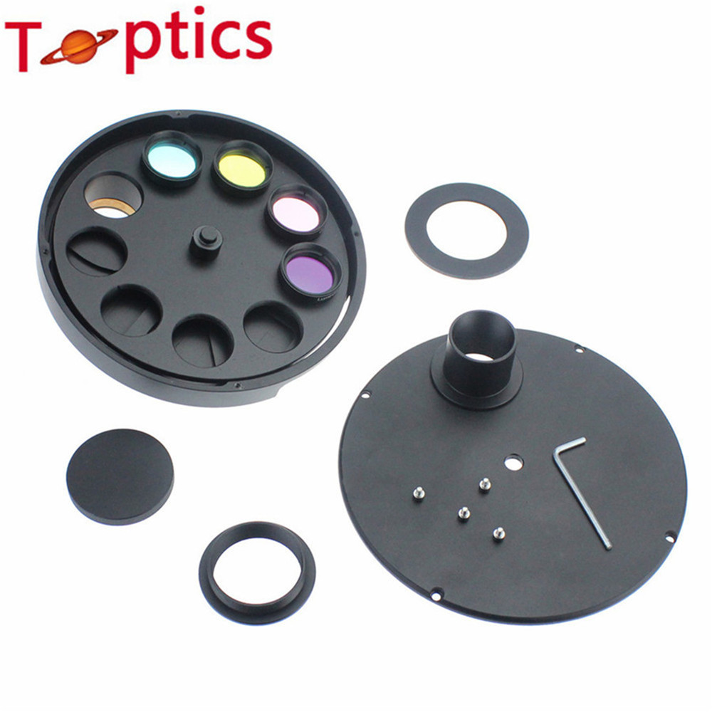 1 25Inch 9 Positions Manual Filter Wheel 1 25Inch Lrgb Filter deep space planetary telescope filter