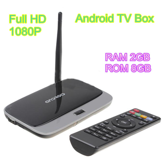 Android 4.4 1080P Full HD RAM 2GB ROM 8GB RK3188T Quad Core Smart TV Box HDMI WiFi XBMC Multi Media Player CS918(China (Mainland))