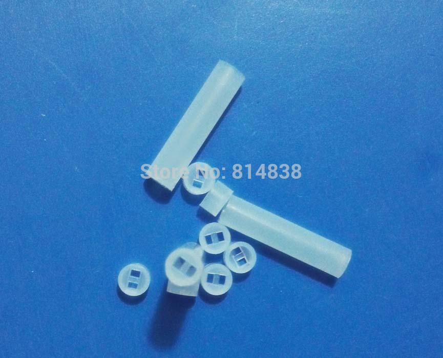 4x21 Diameter 4mm Length 21 mm Nylon PCB Board Mount LED Spacer Support Hood