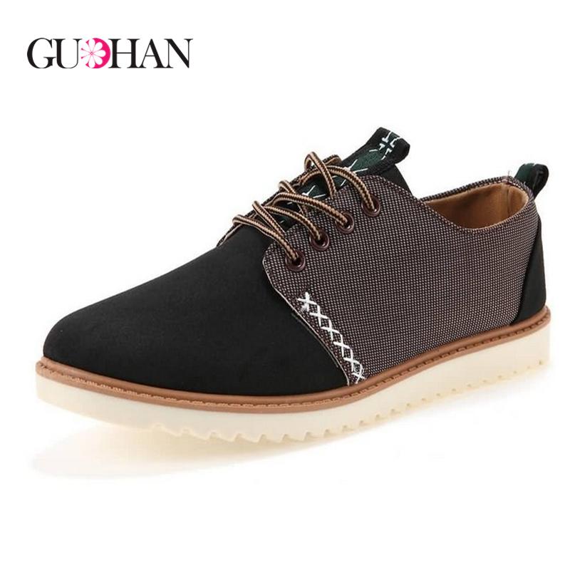 2015 Fashion Men Shoes Euro Style Men's Casual Shoes Men Big Size Shoes Footwear Sport Men Shoes Oxford Zapatos Hombre