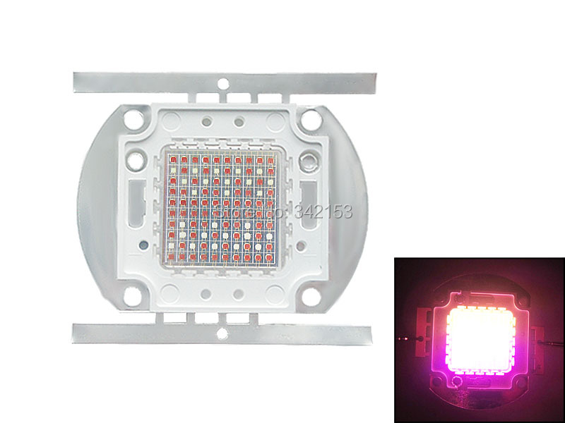 High Power 100W Led Emitter 24V-28V 3A 74pcs Red + 13pcs Blue + 13pcs Green LED Light Lamp DIY For Plant Grow Led Light(China (Mainland))