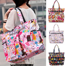 Women Handbag Fashion Bolsos Mujer Lesport Style Big Messenger Bags Sac Mummy Bag Ladies Tote Bag Female Summer Beach Bag N80-2