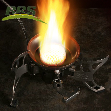 Genuine BRS-15 super wind stove head outdoor gas stove gas stove cooker equipped camping picnic(China (Mainland))