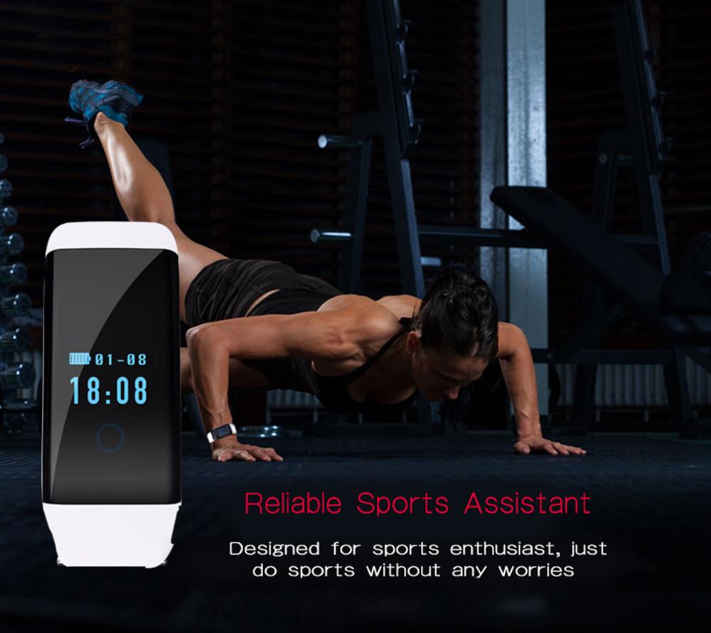 ถูก เดิมว่ายน้ำสายรัดข้อมือสมาร์ทกันน้ำสร้อยข้อมือHeart Rateนาฬิกากีฬากิจกรรมสุขภาพติดตามการออกกำลังกายสำหรับios a Ndroid p hone