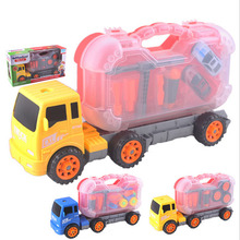 High quality DIY baby removable truck children early education vehicle toys(China (Mainland))