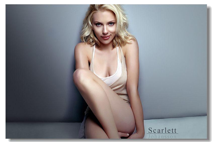 Scarlett Johansson Silk Wall Scarlett Johansson Movies