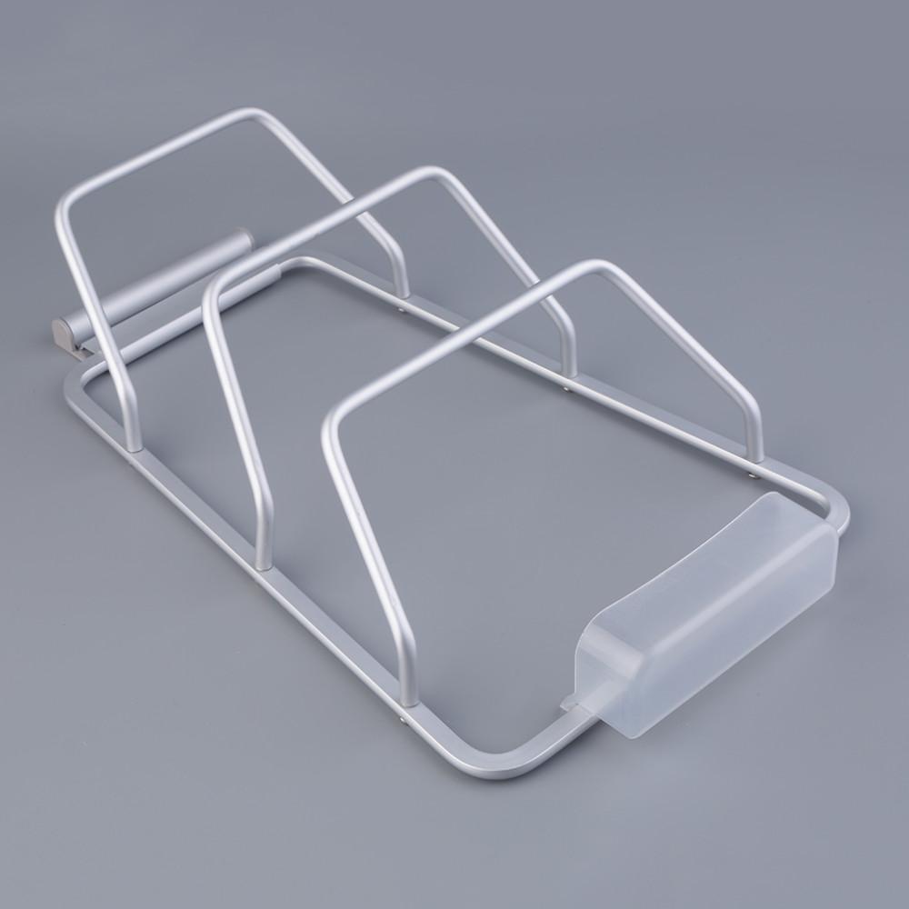 New Aluminum Kitchen Cabinet Door Pot Pan Lid Holder Space