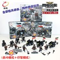 Doll 71002 Blitzkrieg Empire Motorized Infantry Regiment Military Weapons Toys For Children Building Blocks Legousi Bricks