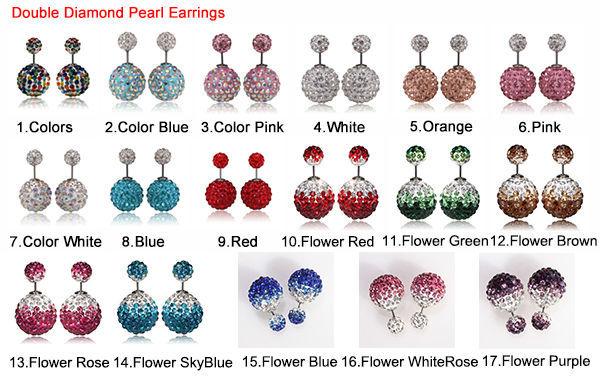 double diamond pearl earrings 4