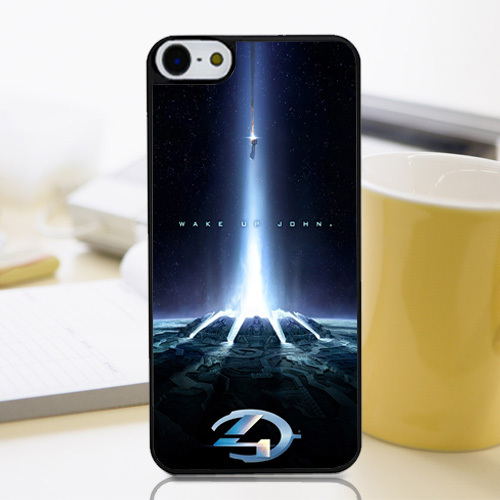 New Arrival Halo4 Wake Up John Fantasy Exo Ship Customized Smartphone Plastic Shell Cover Case for Iphone 4 4s 5 5s 5c 6 6+(China (Mainland))