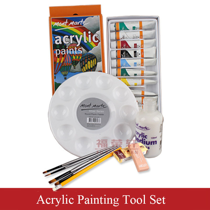 Artist Children Drawing Set Art Set Includes Paint Brush Oil Paint Eraser Palette Drawing Pencil for School Students 1 Set<br><br>Aliexpress