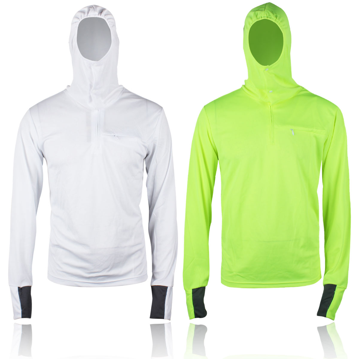 Luwint outdoor fishing sun suit male hooded long-sleeve mosquito perspicuousness anti-uv quick-drying breathable shirt - JULY SHOP (Min. order $15 store)
