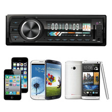 2015 Hot New Arrival Bluetooth Car Stereo Audio In-Dash FM Aux Input Receiver SD USB MP3 Radio Player Free Shipping Wholesale(China (Mainland))