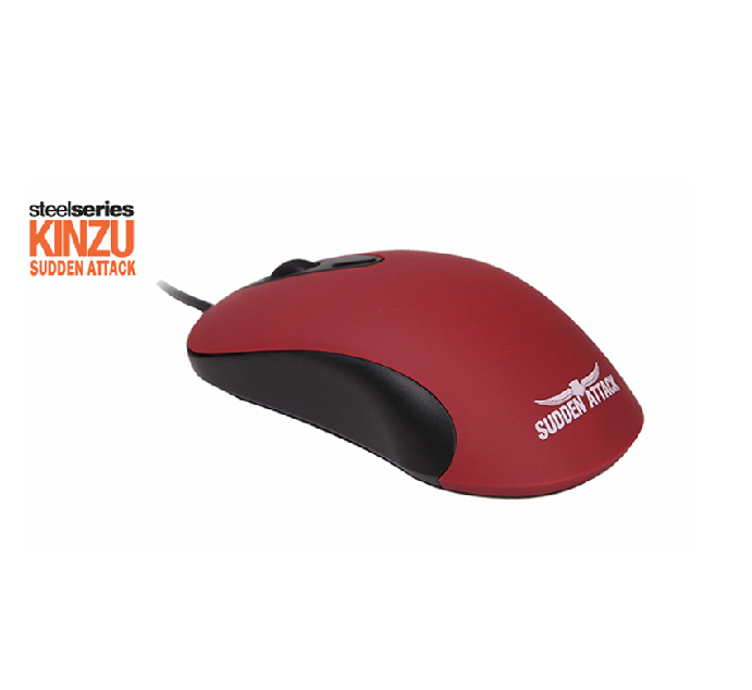Free Shipping Original Steelseries Gaming Mouse Mice Computer Gamer Kinzu v1 Sudden Attack Version 3200dpi+quick mini Mouse Pad(China (Mainland))