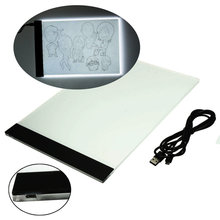 New Arrival A4 LED Light Stencil Touch Board Ultra Thin Box Tattoo Supply Tracing Table Pad(China (Mainland))