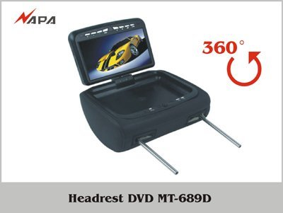 car Headrest DVD