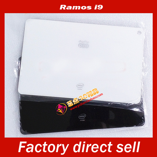 "Black/White New 8.9"" Ramos i9 3G Intel Z2580 Tablet Back Plastic Cover Panel Shell Bottom Plate Parts Replacement Free Shipping(China (Mainland))"