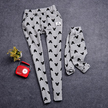 QZ365 1pcs pant Spring Summer new family matching clothes comfortable cotton casual pants family matching outfits family look