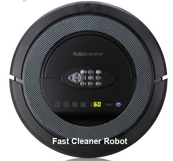 Free Shipping 2014 Infinuvo CleanMate Vacuum Robot Cleaner QQ5 (Auto Recharge,Remote Controller,Schedule,UV light,Sonic Wall)<br><br>Aliexpress