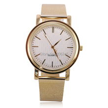 2015 Women Wristwatches with Gold Band Fashion Women Dress Watch Brand New Stainless Steel Watches Women Relogio Feminino