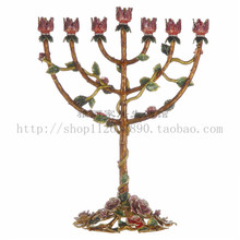 Beautiful life Candlestick ornaments European high-grade Table Decor furnishings imported from France wd-256492(China (Mainland))