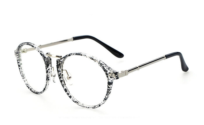 Glasses Frames Styles For Round Faces : 2015 South Korea Style Popular Plain Glasses Spectacle ...