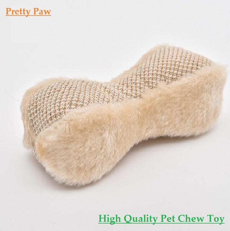 Lovely Bone Shape Dog Toy Best Value!! Pet Dog Squeak Toys Dog Chew Toys For Pet Dog Screaming Toys Pet Pillow For Bed(China (Mainland))