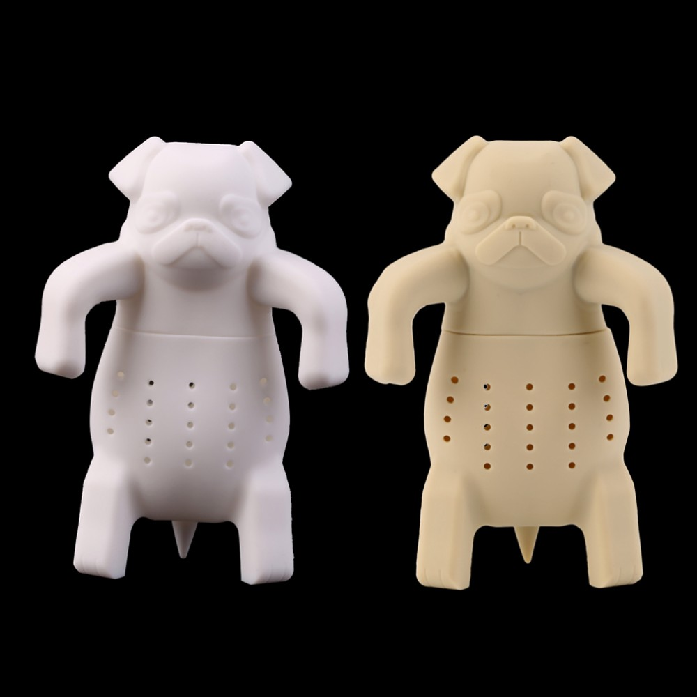Dog Shape Tea Infuser Loose Leaf Strainer Herbal Silicone Filter Diffuser Brand New  Dog Shape Tea Infuser Loose Leaf Strainer Herbal Silicone Filter Diffuser Brand New